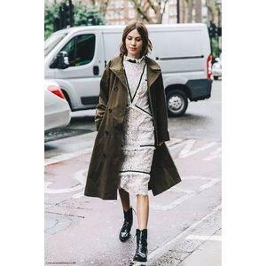 Alexa Chung similar style lace dress
